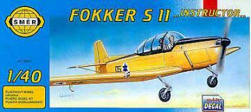 Smer 801 FOKKER S 11 INSTRUCTOR 1/40 Plastic models
