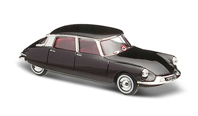 CITROEN DS OFFICIELLE 1956