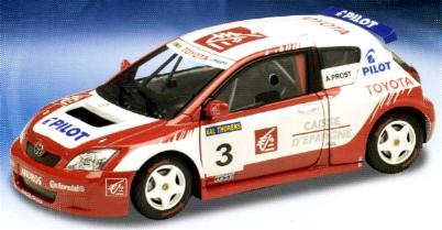 Solido 83501 Toyota ANDROS Prost 2005 2006 Miniatures 1:18