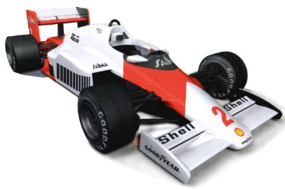 Solido 83502 Mc Laren MP4 2B Prost 1985 Miniatures 1:18