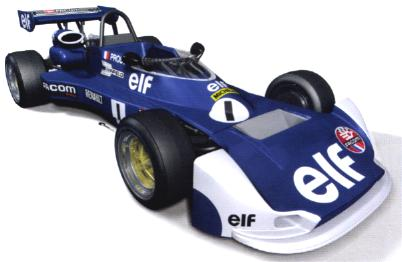Solido 83504 FORMULE Renault MK20 Prost 1977 Miniatures 1:18