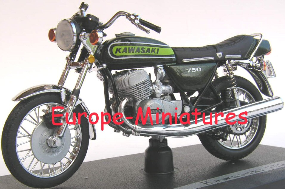 Solido 84001 KAWASAKI 750 H2 (JOE BAR TEAM) Miniatures 1:18