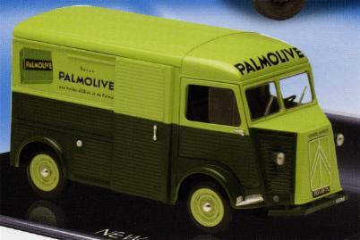 Solido 840903 CITROEN HY PALMOLIVE 1962 Miniatures 1:18