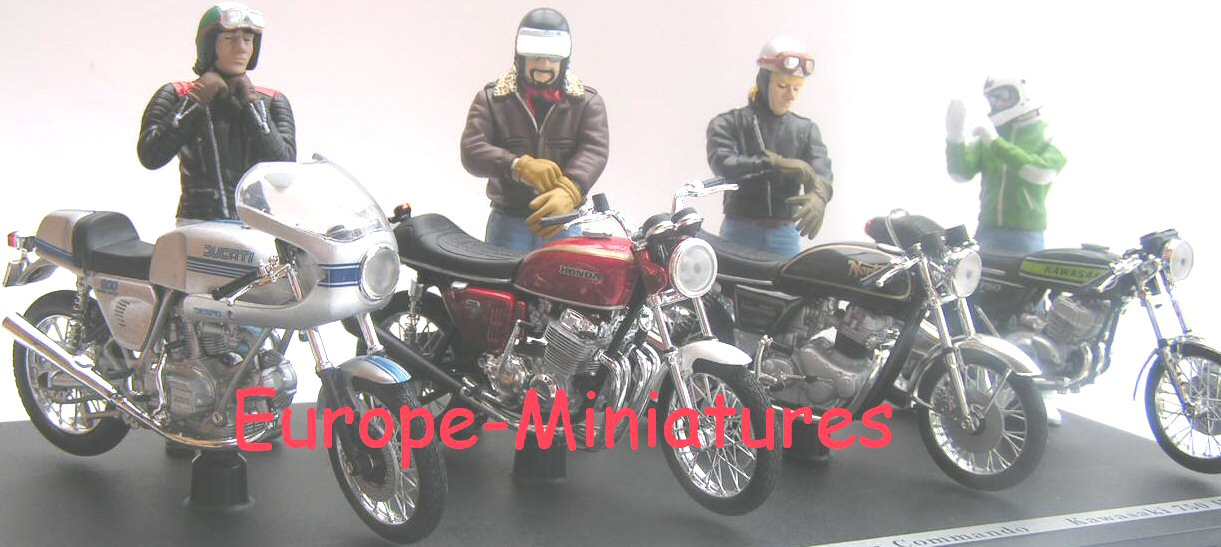Solido 88500 JOE BAR TEAM 4 FIGURINES Miniatures 1:18