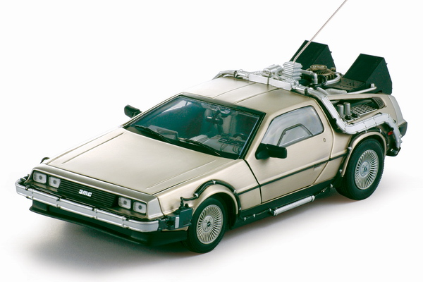 Sunstar 2711 De Lorean (Back to the Future 1) Die cast 1:18