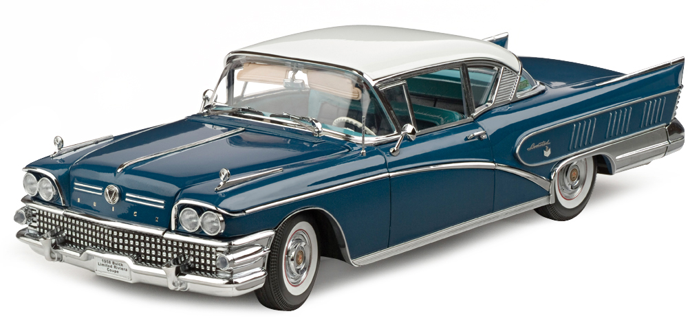 Sunstar 4802 BUICK LIMITED RIVERA 1958 Die cast 1:18