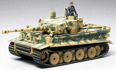 Tamiya 21014 TIGER I DEBUT PRODUCTION Maquettes 1:35