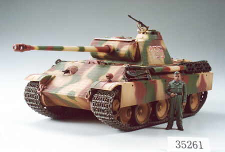 Tamiya 35261 PANTHER G AVEC PHOTODECOUPES Plastic models 1:35