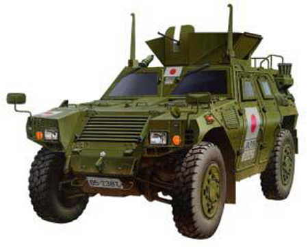 Tamiya 35275 LIGHT ARMORED VEHICULES JGSDF Plastic models 1:35