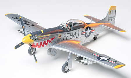 P 51 D MUSTANG KOREAN WAR
