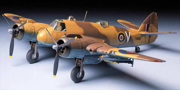Tamiya 1//48 AVION BRISTOL BEAUFIGHTER MK.6