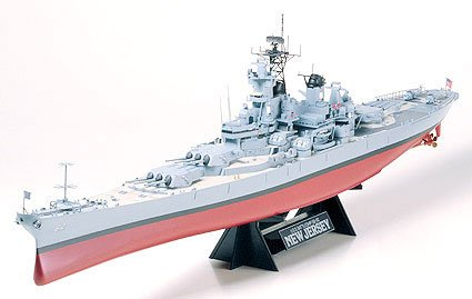 Tamiya 78017 NEW JERSEY USS 1/350 Maquettes