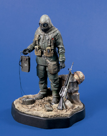 Verlinden 0548 SOLDAT NBC OPERATION DESERT 120 MM Maquettes