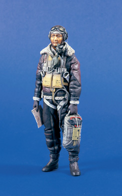 Verlinden 0583 PILOTE USAF BOMBARDIER 120 MM Maquettes