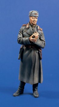 Verlinden 0608 OFFICIER SOVIETIQUE BERLIN 1945 120 MM Maquettes