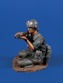 Verlinden 0630 GRENADIER US AVANT M-79 120 MM Plastic models