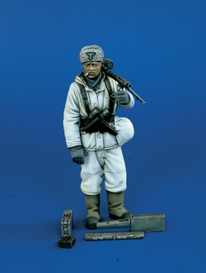 Verlinden 1085 TIREUR ALLEMAND MG WWII 120 MM Maquettes