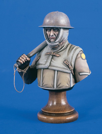 Verlinden 1876 BUSTE BRITISH TRENCH 200 MM Maquettes