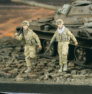Verlinden 2037 BRITISH MG GUERRE GOLFE Maquettes