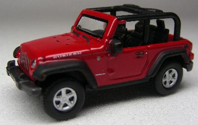 Welly 73122 JEEP WRANGLER RUBICON Miniatures 1:87