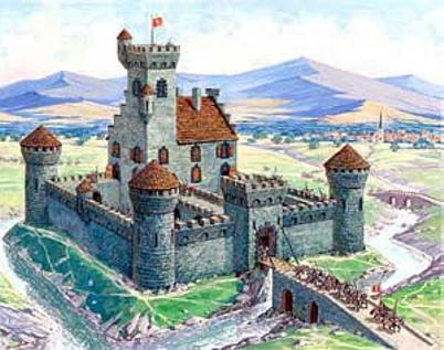 Zvezda 8519 CHATEAU FORT Maquettes 1:72